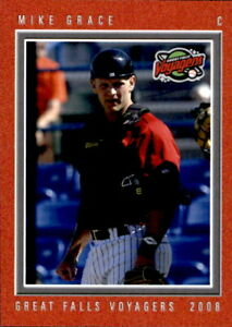 2008 Great Falls Voyagers Grandstand #5 Mike Grace Durant Plant City Florida ?