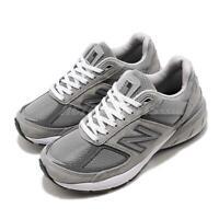 New Balance W990GL5 D Wide 990 V5 Grey Womens Running Shoes W990GL5D