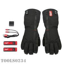 Milwaukee Tools 561-21M USB Rechargeable Heated Gloves - Medium - REDLITHIUM™