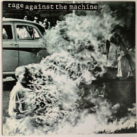 RAGE AGAINST THE MACHINE SELF TITLED LP EPIC 1992 FIRST PRESS NEAR MINT