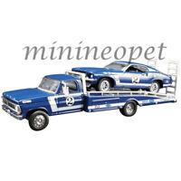 ACME 51268 1969 FORD MUSTANG BOSS 302 T/A & FORD RAMP TRUCK 1/64 DAN GURNEY #2