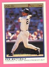 1991 O-PEE-CHEE Premier OPC Don Mattingly #77  New York Yankees Highly Gradable