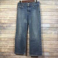 Lucky Brand Jeans Women Size 12 / 31 Medium Wash Easy Rider Bootcut Blue Denim