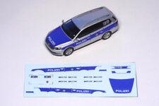 Decals 1:87 H0 Polizei NRW VW Passat B7 Variant, für Wiking, für Eigenbau