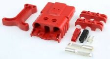 Anderson SBE80 SERIES CONNECTOR KIT 30A/80A 150V AC/DC Male/Female RED*USA Brand
