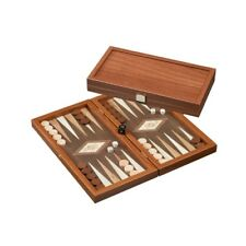 Kythira - klein - Backgammon - Walnussoptik -