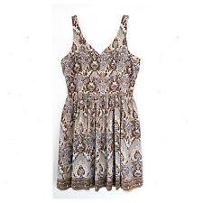 TALBOTS 100% Silk Sheath Dress Womens Plus Size 1X Flirty Swing Retro Sleeveless