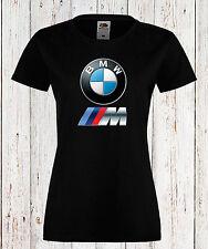LADY/DAMEN T-SHIRT BMW M POWER LOGO  TEE CAR KURZARM/ SHORT SLEEVES BLACK/WHITE