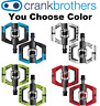 Crank Brothers Mallet E LS Long Spindle LE Enduro Clipless Pedals & Cleat Bike