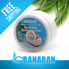 BANABAN NATURAL Extra Virgin Coconut Oil Body Butter 250g (FREE SHIPPING)