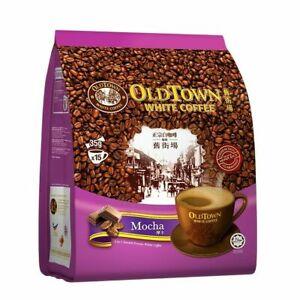 Old Town 3-In-1 Instant Premix Mocha White Coffee 15 Sticks x 35 g