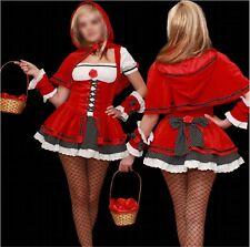 Talla M 38 caperucita roja cuentos de hadas carnaval carnaval casi noche disfraz señora sexy