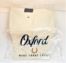 NEW! Oxford : Men's Vickery Performance Shorts : Silver Birch Size 34 {4777}