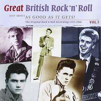GREAT BRITISH ROCK 'N' ROLL VOL.5  JOE HENDERSON/DANNY RIVERS/+   2 CD NEU