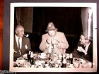 Vintage BOEING PHOTO PARTY MEN LIGHTING CORN COB PIPE HAT TOBACCO BEER EXECUTIVE
