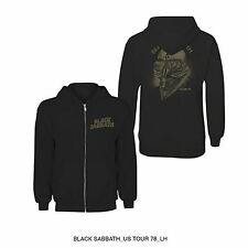 Black Sabbath Hooded Top: Tour 78' - SIZE 2XL