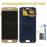 Für Samsung GALAXY A3 2017 SM-A320F LCD Display + Touch Screen Bildschirm (Gold)