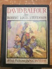 N.C. Wyeth Illustrated Scribner's David Balfour 1935 Robert Louis Stevenson