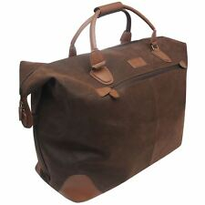 Kangol Overnight Holdall Brown Gym Sports Bag Genuine