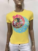 Maglia PEPE JEANS Donna Taglia size S maglietta t-shirt MANICA corta cotone P 48