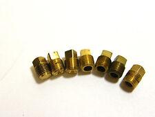 "Weatherhead Brass Square Head Plugs 1/8"" (7)"