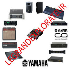 Ultimate YAMAHA PRO Audio Repair Service Manuals   (385 PDF manual s on 2 DVD)