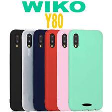 Cover WIKO Y80 L' ORIGINALE Silicone CUSTODIA Qualità PREMIUM