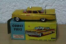Corgi 221 Chevrolet Impala New York Taxi Cab 1:43