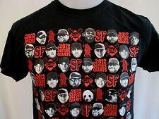 2012 SAN FRANCISCO GIANTS WORLD SERIES CHAMPIONS T-Shirt Medium Bumgarner Posey