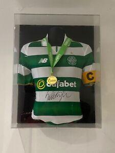 Celtic fc title medal 16/17 season ladbrokes Match Worn Issued Hail Hail