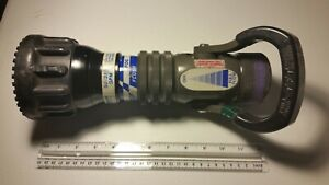 TFT Fire Hose Nozzle Task-Force Tips 50-350 GPM Automatic #2
