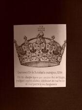 Couronne d'or de Boleslas le courageux année 1024 - Polonia Anno 1865 Araldica