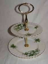 ROYAL ALBERT TRILLIUM PORZELLAN ETAGERE BONE CHINA ENGLAND