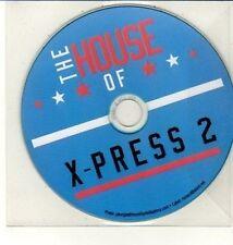 (DC1000) The House of X-Press 2, 11 track album - DJ CD