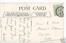 Genealogy Postcard - Family History - Kirk - Carlton - Nottinghamshire  Q840