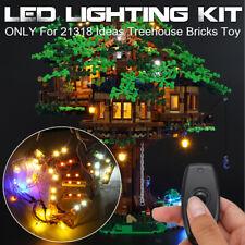 Led Lighting Kit Only For Lego 21318 Ideas Treehouse Bricks Toy W/Remote j