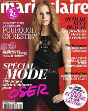 MARIE CLAIRE N° 697 SEPTEMBRE 2010 SPECIAL MODE YANNICK NOAH/ BRIGITTE BARDOT