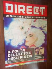 DIRECT 54 - IL POEMA DEL VENTO E DEGLI ALBERI - CRYING FREEMAN - NUOVO