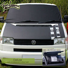 Deluxe VW T4 Window Screen Cover 100% Blackout Blind Wrap Frost Windscreen