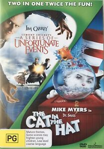 Lemony Snicket's A Series of Unfortunate Events / The Cat in the Hat (DVD - R4)