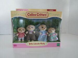 Calico Critters Yellow Labrador Family CC1804 Set