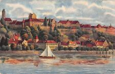 Germany Meersburg am Bodensee, Boat, Signed