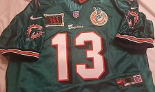 Dan Marino 1999 Miami Dolphins Authentic NFL Nike Retirement Jersey Size 52