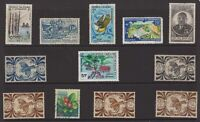 France new Caledonia stamp group mint and used