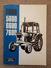 5640-8340 Ford 40 Series Manual del operador tractores