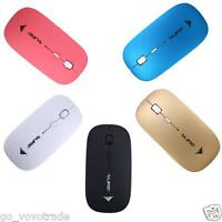 2400 DPI 4 Button Portable Mini Optical USB Wireless Gaming Standard Mouse Mice