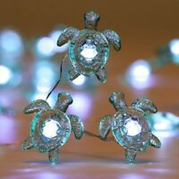 Sea Turtle Decorative String Lights 4M 40 LED Waterproof Battery/USB Operate