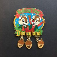 Chip and Dale Holiday Time Tour Disneyland 2014 Disney Pin 107634