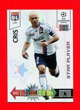 CHAMPIONS LEAGUE 2010-11 Panini 2011 -Card Star Player- CRIS - LYON