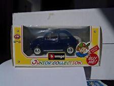 """Burago-scala 1-24- FIAT 500 -- """"""""Junior Collection"""""""""""" Nuova in Box-"""